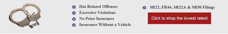 Cheap Florida FR44 Insurance